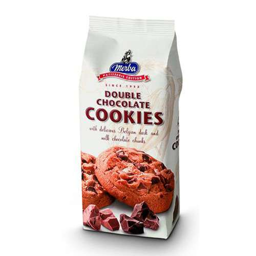 Merba Double Chocolate Cookies 200 g
