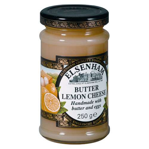 Elsenham Butter Lemon Cheese Zitronencreme 250 g