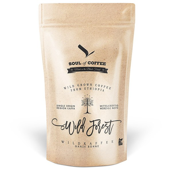 Soul of Coffee Wild Forest Bohne 250 g