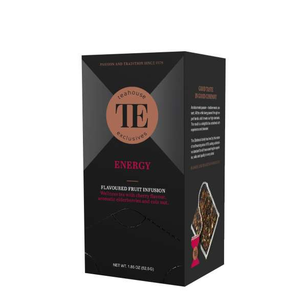TE Luxury Tea Bag Energy 15 Teebeutel 52,5 g