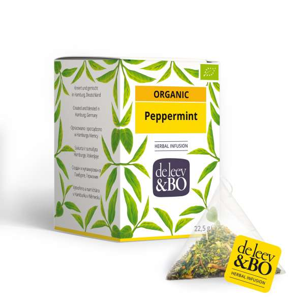 de Leev & Bo Bio Pfefferminze Premium Teebeutel 15 x 2,5g