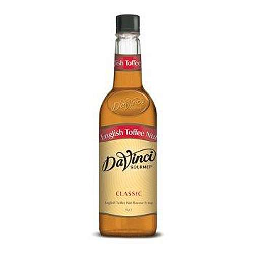 Da Vinci Gourmet Sirup English Toffee Nut PET 1 L