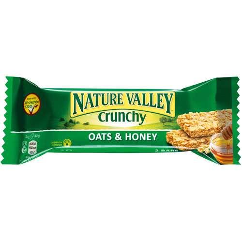 Nature Valley Crunchy Doppel-Müsliriegel Oats & Honey 42 g