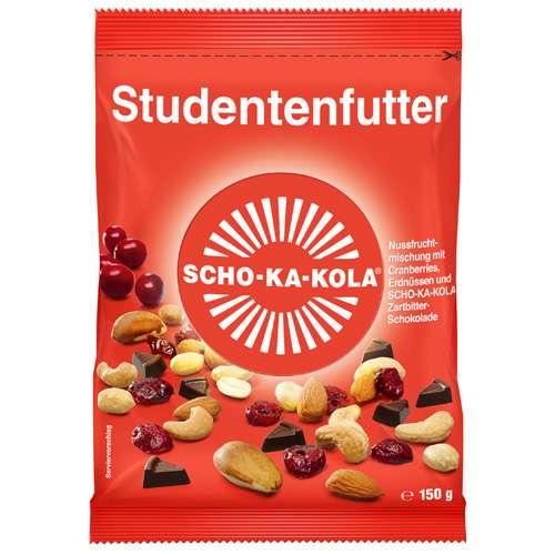 SCHO-KA-KOLA Studentenfutter Zartbitter 150 g