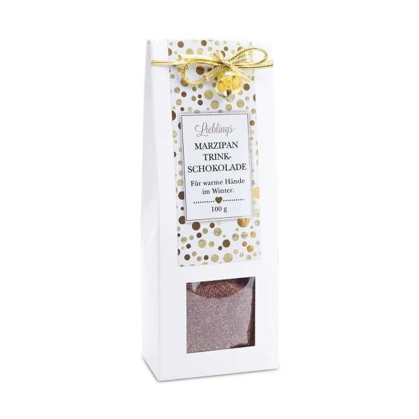 Trinkschokolade mit Marzipan von Collier 100g