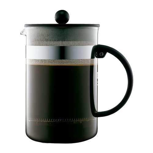 Bodum BISTRO NOUVEAU Kaffeebereiter 12 Tassen 1,5 L Schwarz