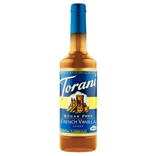 Torani Sirup French Vanille zuckerfrei 750 ml