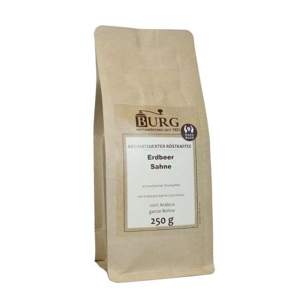 BURG Erdbeer Sahne Kaffee aromatisiert