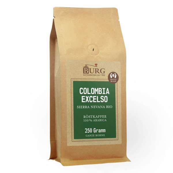 BURG Bio Colombia Excelso Sierra Nevana Kaffee