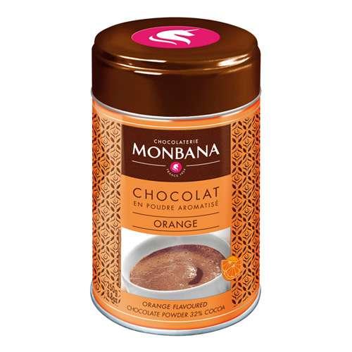 Monbana Trinkschokolade Orange Dose 250 g