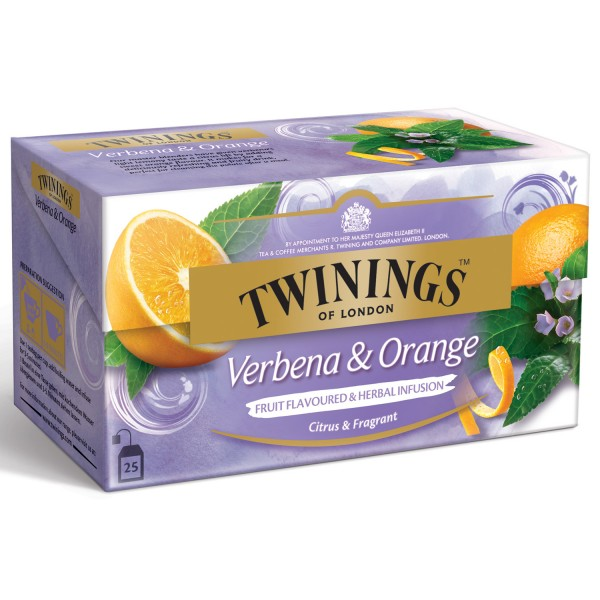Twinings Früchtetee Verbena & Orange 25 Teebeutel