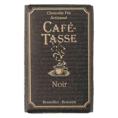Café-Tasse Zartbitterschokolade 60% Kakao 10 Täfelchen á 9 g