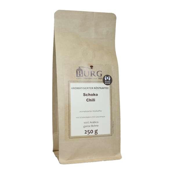 BURG Schoko-Chili Kaffee aromatisiert