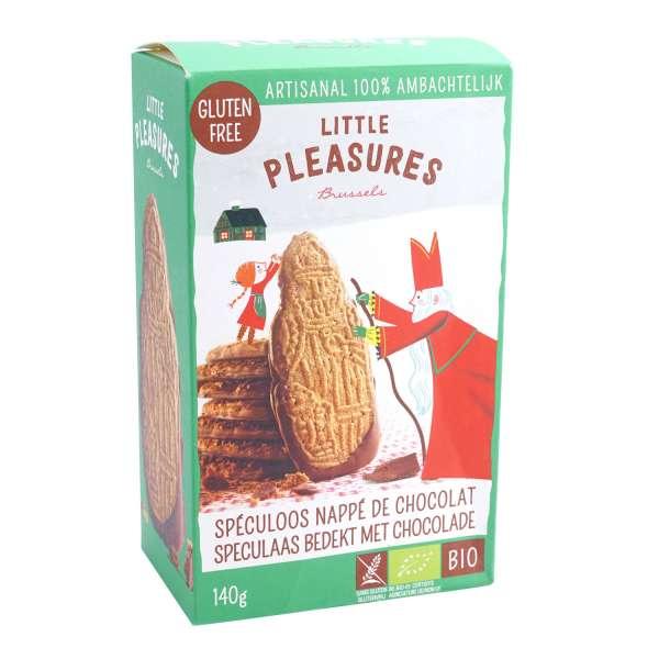 Little Pleasures Bio-Spekulatius glutenfrei mit Schokolade