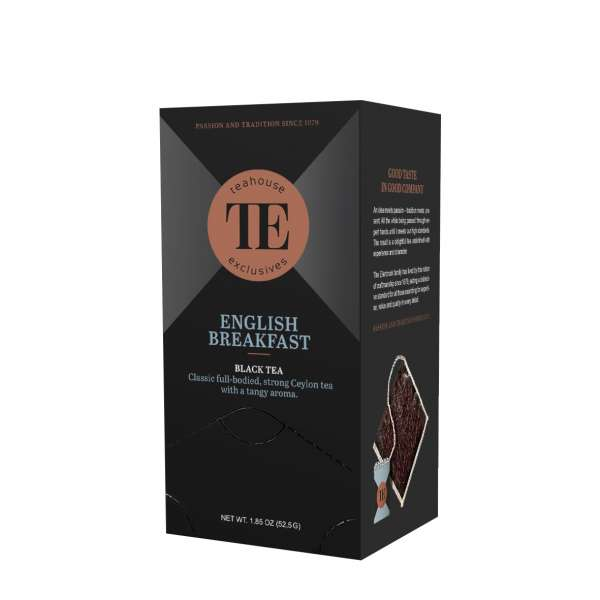 TE Luxury Tea Bag English Breakfast 15 Teebeutel 52,5 g