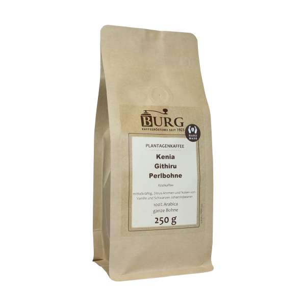 BURG Kaffee Perlbohne Kenia Githiru
