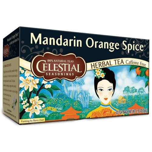 Celestial Seasonings Mandarin Orange Spice 20 Beutel