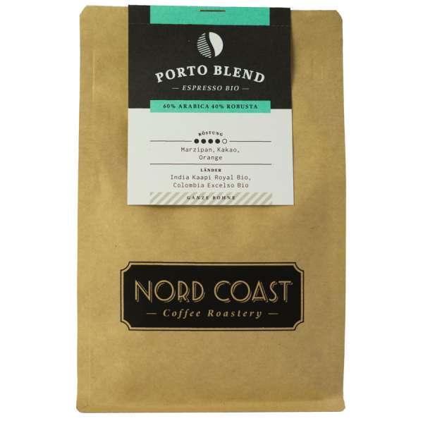 NORD COAST Porto Blend Bio Espresso Bohne 250 g