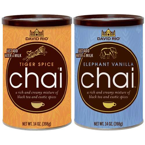 David Rio Tiger Spice & Elephant Vanilla Chai 2er Set