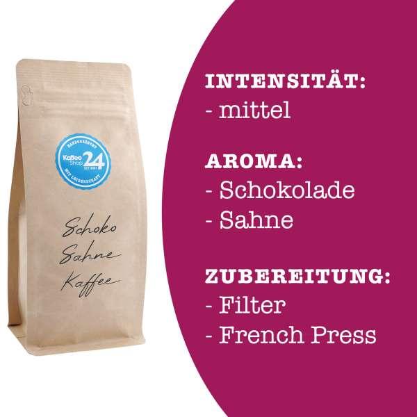 Schoko-Sahne Kaffee