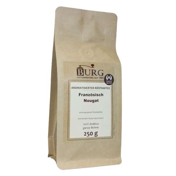 BURG Französisch Nougat Kaffee