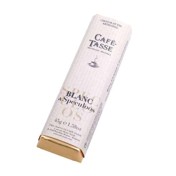 Café-Tasse Weiße Schokolade mit Spekulatiuscreme 45 g