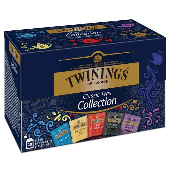 Twinings Classic Schwarztee Collection 20 Teebeutel