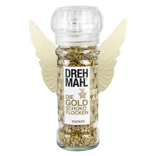 DREHMAHL Mühle Aromazucker Goldschokoflocken 75 g