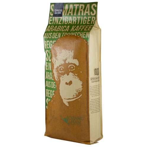 Orang-Utan Sumatra Arabica Espresso Bohne 1000 g