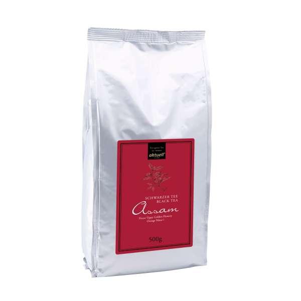 aktuell Assam FTGFOP1 Schwarzer Tee 500 g