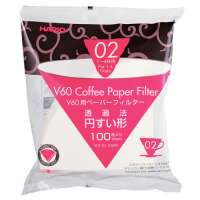 HARIO V60 Kaffeefiltertüten aus Papier 100 Stück