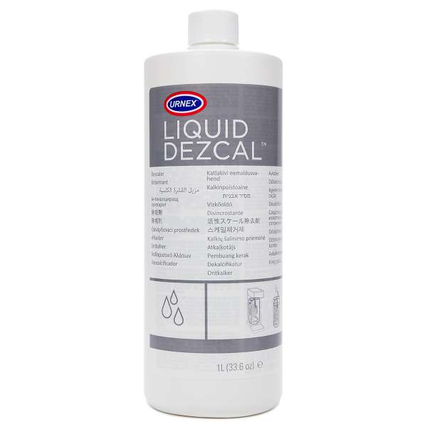 Kaffeemaschinen Entkalker URNEX Liquid Dezcal 1 Liter