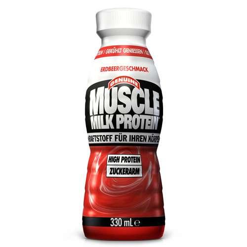 Muscle Milk Protein Drink Erdbeer 330 ml