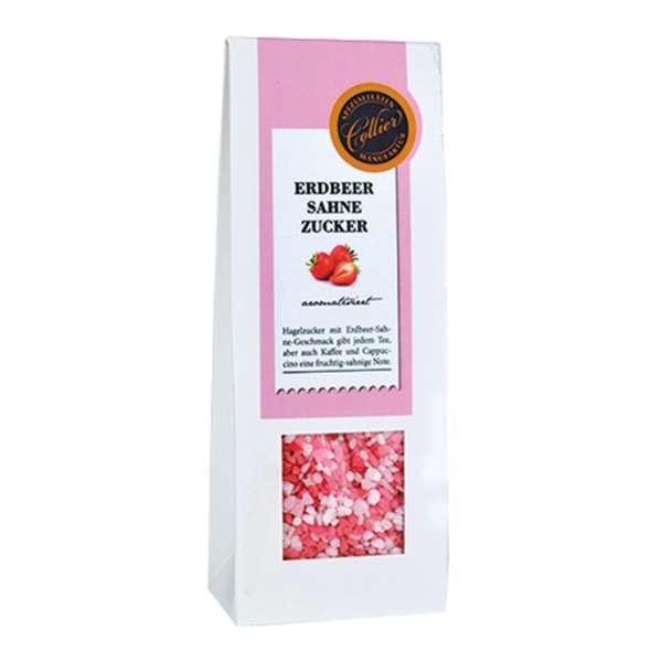 Erdbeer-Sahne Hagelzucker aromatisiert von Collier 200g