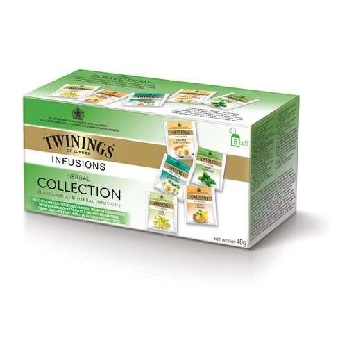 Twinings Kräutertee Herbal Collection 25 Teebeutel