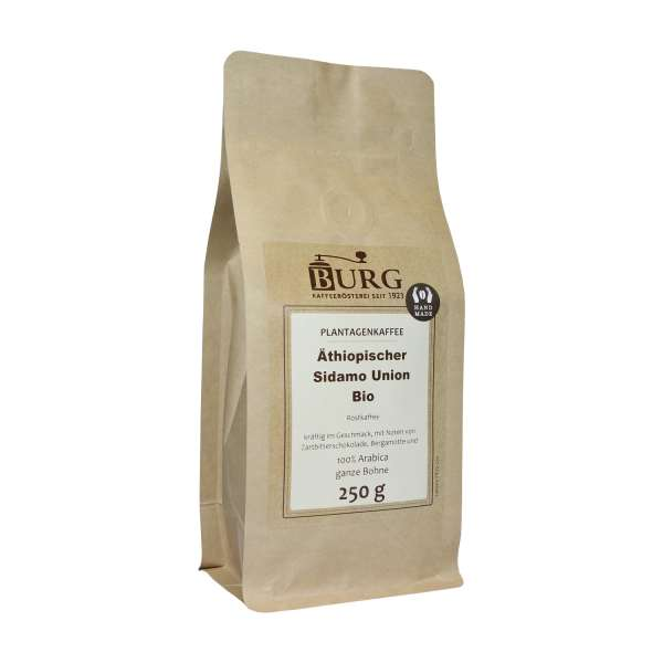 BURG Äthiopischer Sidamo Kaffee
