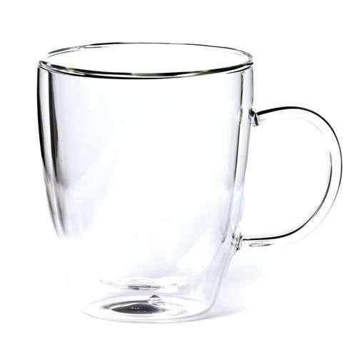 Shamila Doppelwandglas mit Henkel 0,3 L