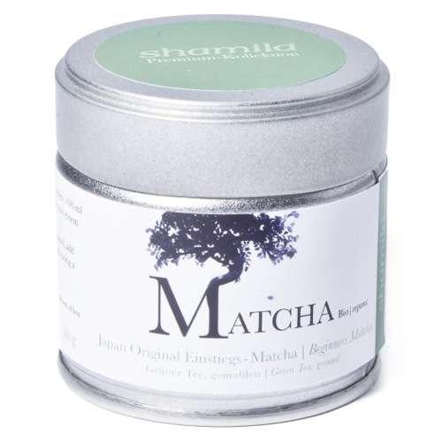 Shamila Japan Original Einstiegs-Matcha Bio Dose 30 g