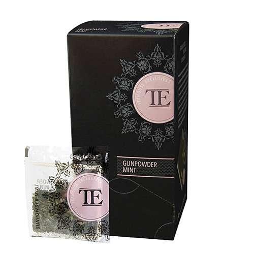 TE Luxury Tea Bag Gunpowder Mint 15 Teebeutel 52,5 g