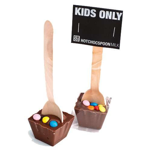 HOTCHOCSPOON Kids Only Vollmilch 50 g