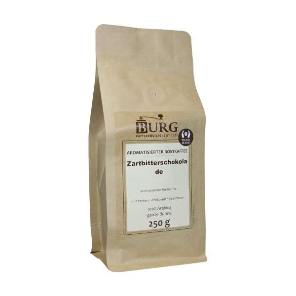 BURG Zartbitter-Schokolade Kaffee aromatisiert