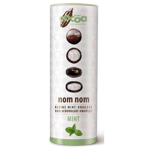 Becks Cocoa schokolierte Minzdragees nom nom Mint 75 g