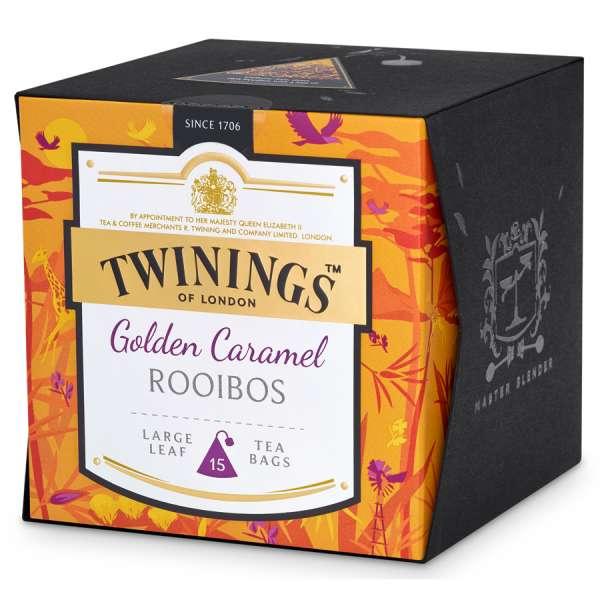 Twinings Platinum Golden Caramel Rooibos 15 Teebeutel