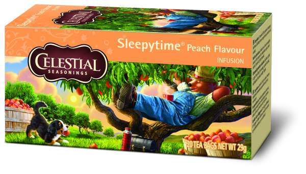 Celestial Seasonings Sleepytime Peach Flavour 20 Beutel