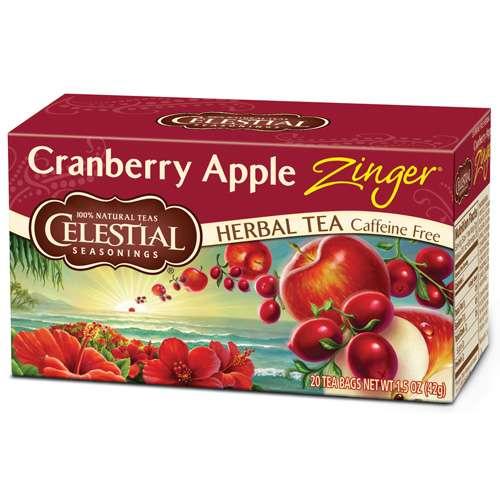 Celestial Seasonings Cranberry Apple Zinger Tee 20 Beutel