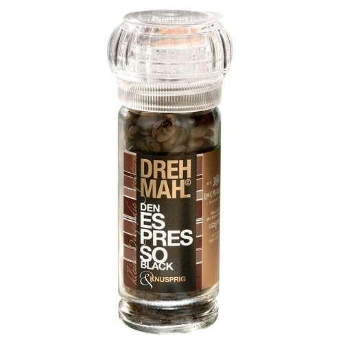 DREHMAHL Mühle Aromazucker Espresso Black 30 g