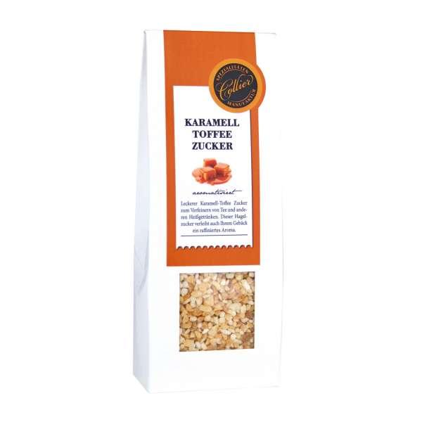 Karamell-Toffee Hagelzucker aromatisiert von Collier 200g