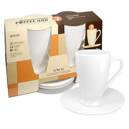 k nitz irish coffee 2er set tassen untertassen wei 260 ml kaufen kaffeeshop 24. Black Bedroom Furniture Sets. Home Design Ideas