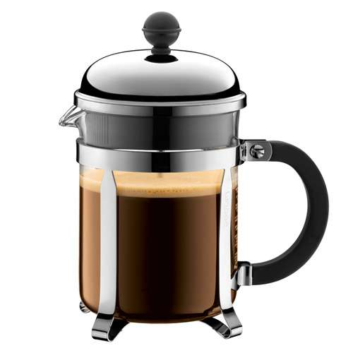 Bodum CHAMBORD French Press Kaffeebereiter 4 Tassen 0,5 L