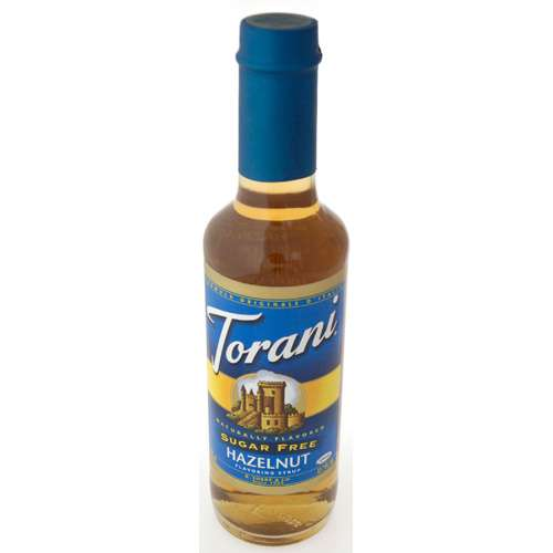Torani Sirup Haselnuss zuckerfrei 150 ml